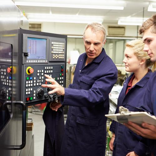 Training for the factory of the future