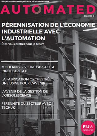 Pérennisation de l'économie industrielle avec l'automation